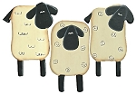 Sheep Magnets - Set of 3