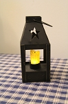 Miniature Colonial Lantern Timer Candle