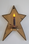 Star Wall Candle Hanger with 6