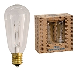 Edison Bulb 7 Watt-ST40 Replacement Bulbs 2/Pack