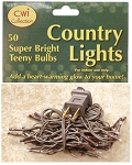 50 Ct. Teeny Super Bright Bulbs Country Light Strand