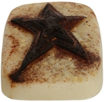 Grungy Star Soap Bar 4oz.
