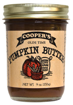Cooper 39 s mill olde time pumpkin butter 8 5 oz for Coopers mill