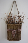Large Willow Hanging Basket with Pip Berries