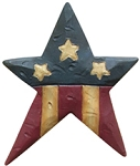 Americana Star Pin by Blossom Bucket
