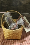 Primitive Soaps Guest Set with Basket
