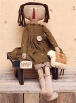 Primitive Abby Doll