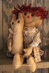 Kitty Ann Primitive Doll