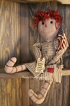 Liberty Annie Primitive-Style Doll